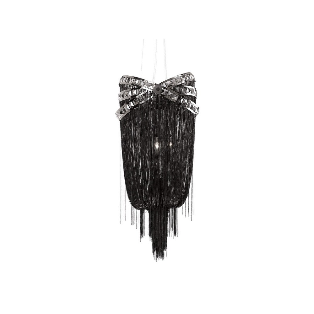 Avenue  HF1608BLK Four Light Wall Sconce Wilshire Blvd. Black Smoke - One Size (One Size - Clear)