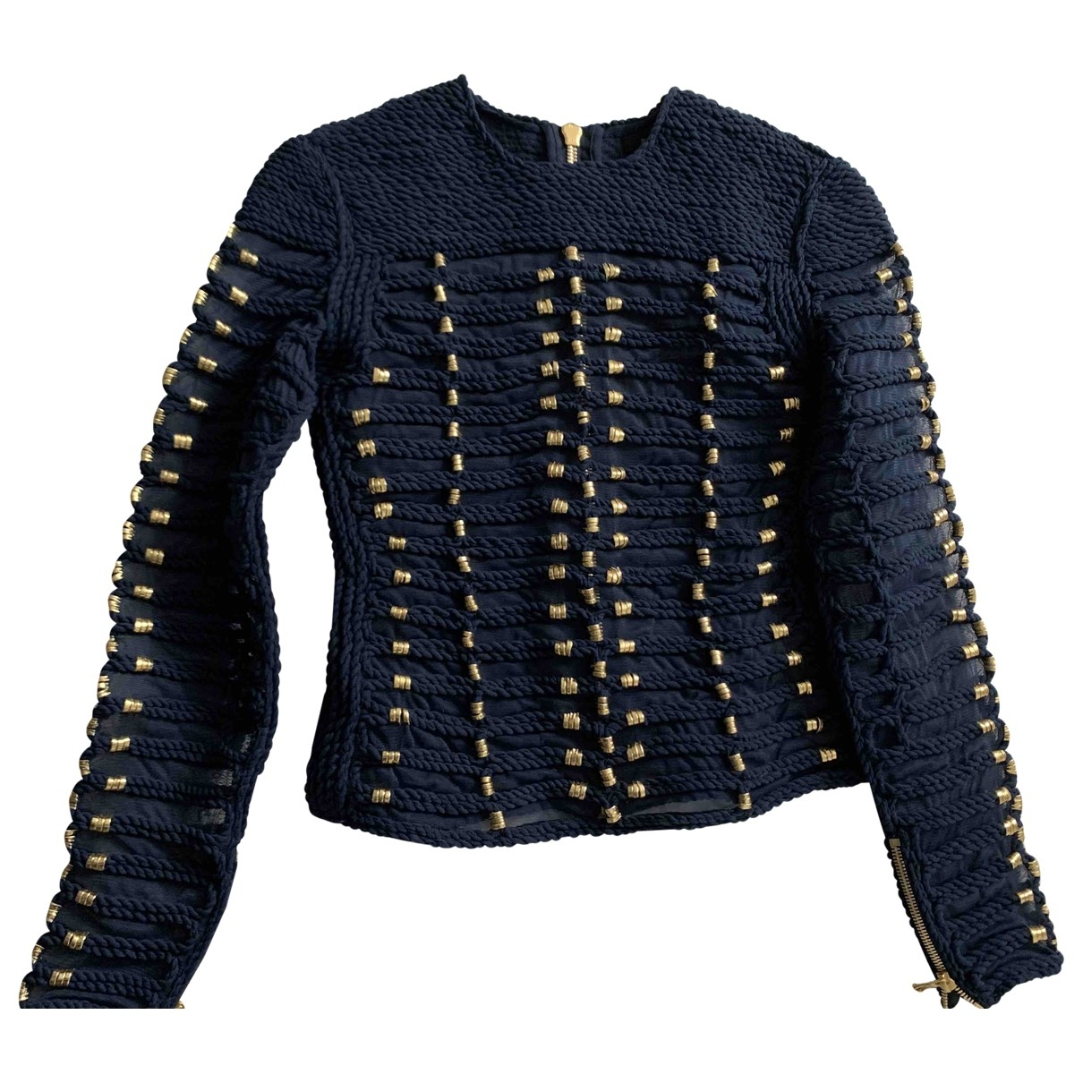 Balmain For H&m \N Blue  top for Women 6 US