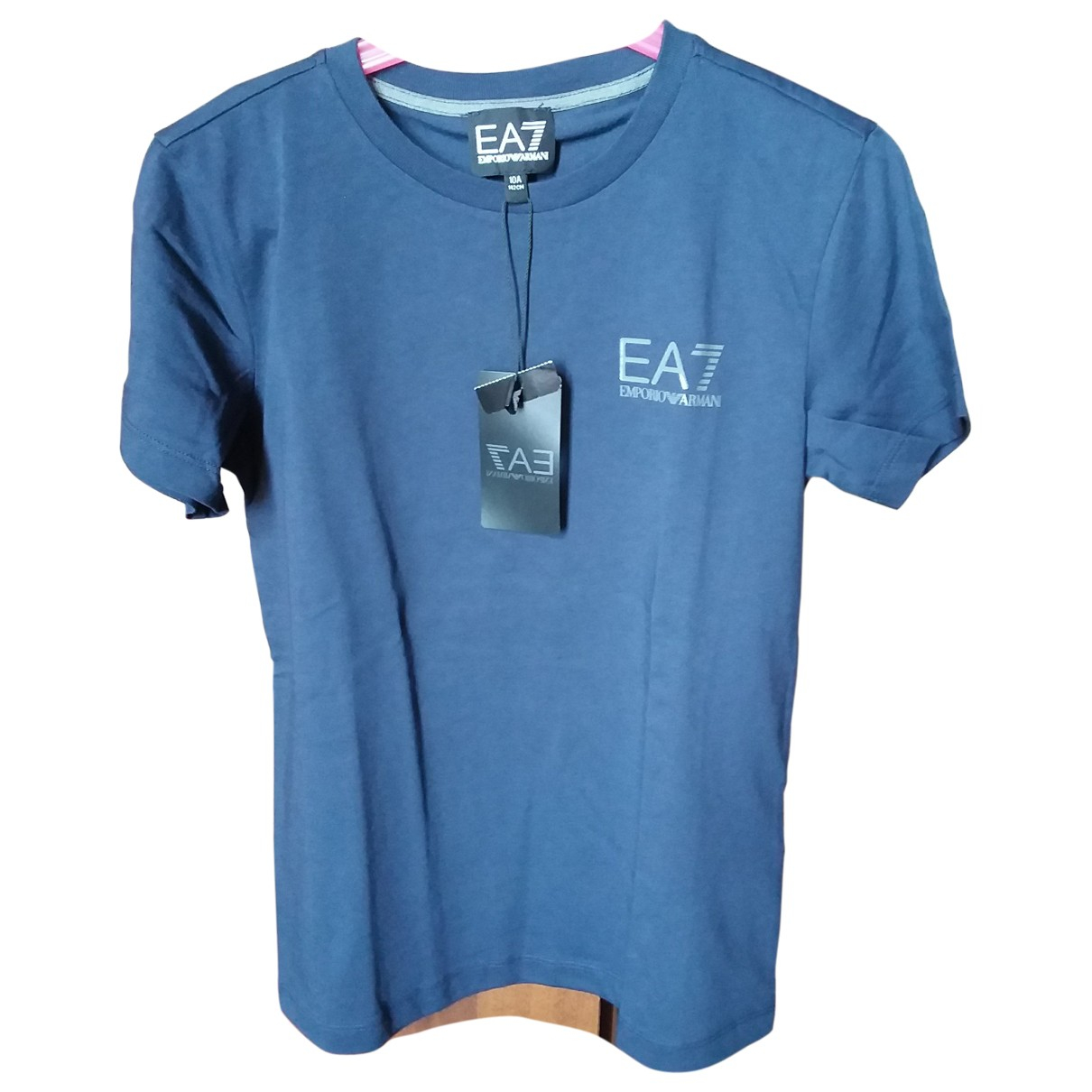 Emporio Armani \N Blue Cotton  top for Kids 10 years - up to 142cm FR