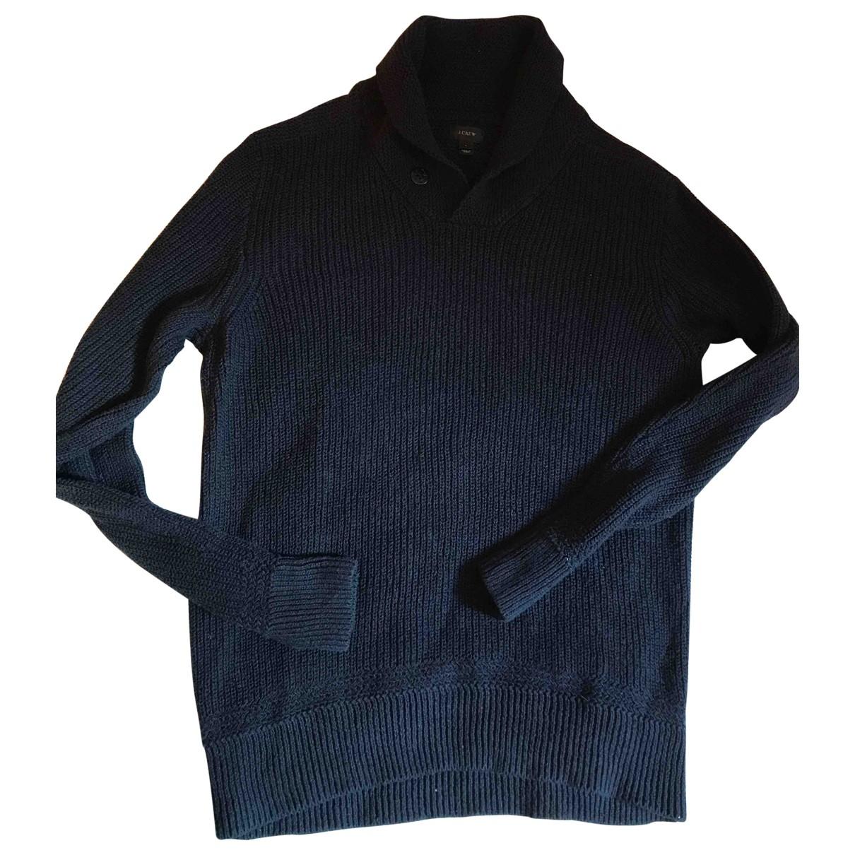 J.crew \N Navy Linen Knitwear & Sweatshirts for Men L International