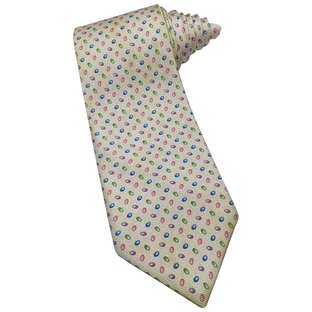 Bvlgari \N Krawatten in  Bunt Seide