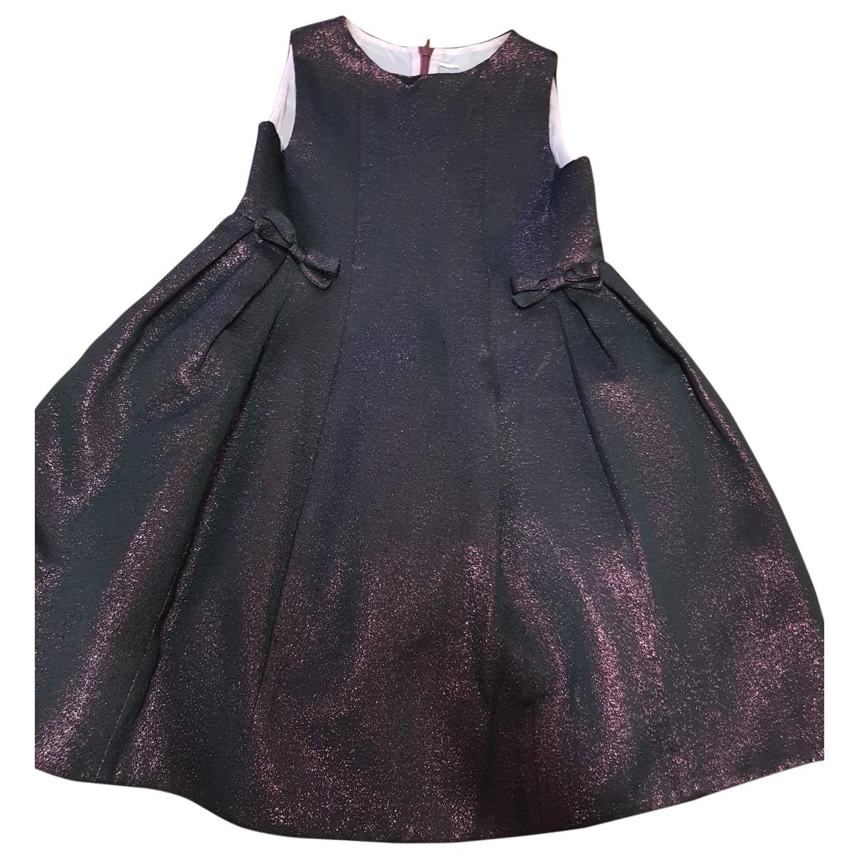 Simonetta - Robe    pour enfant en coton - multicolore