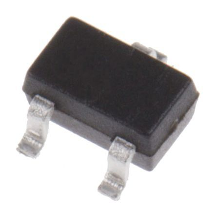 ON Semiconductor N-Channel MOSFET, 170 mA, 100 V, 3-Pin SOT-323 BSS123W (3000)