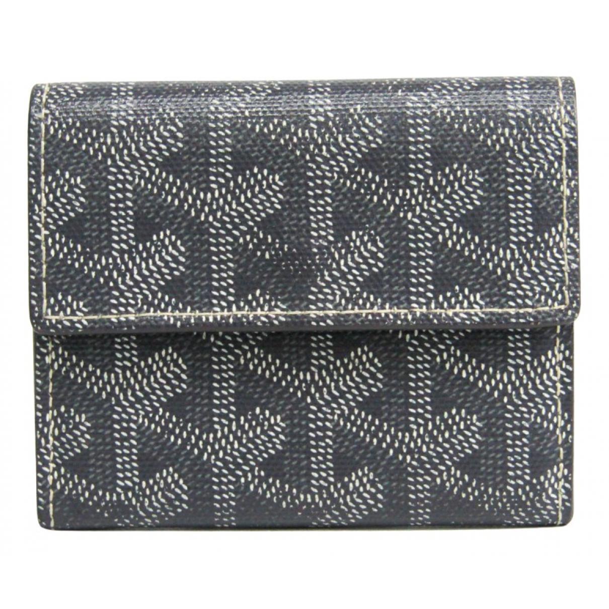 Goyard - Portefeuille   pour femme en toile - gris