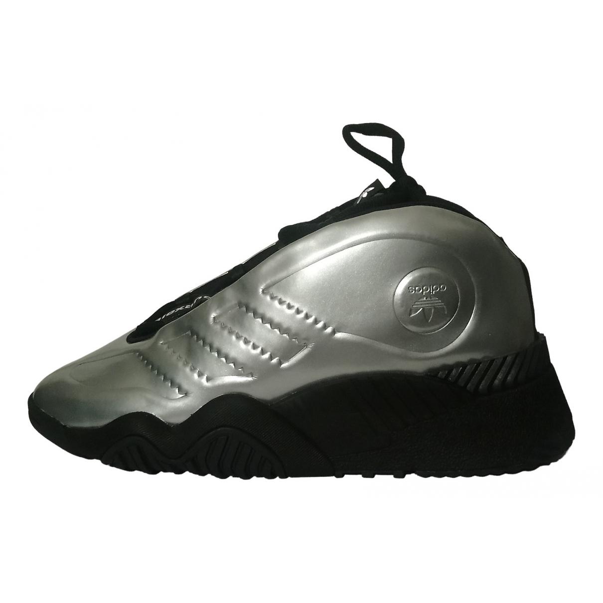 Adidas Originals X Alexander Wang - Baskets   pour homme en caoutchouc - argente