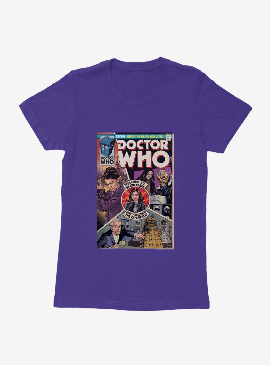 Doctor Who Survive Clara Comic Womens T-Shirt