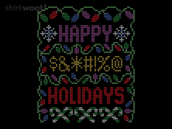 Happy Bleepin Holidays T Shirt
