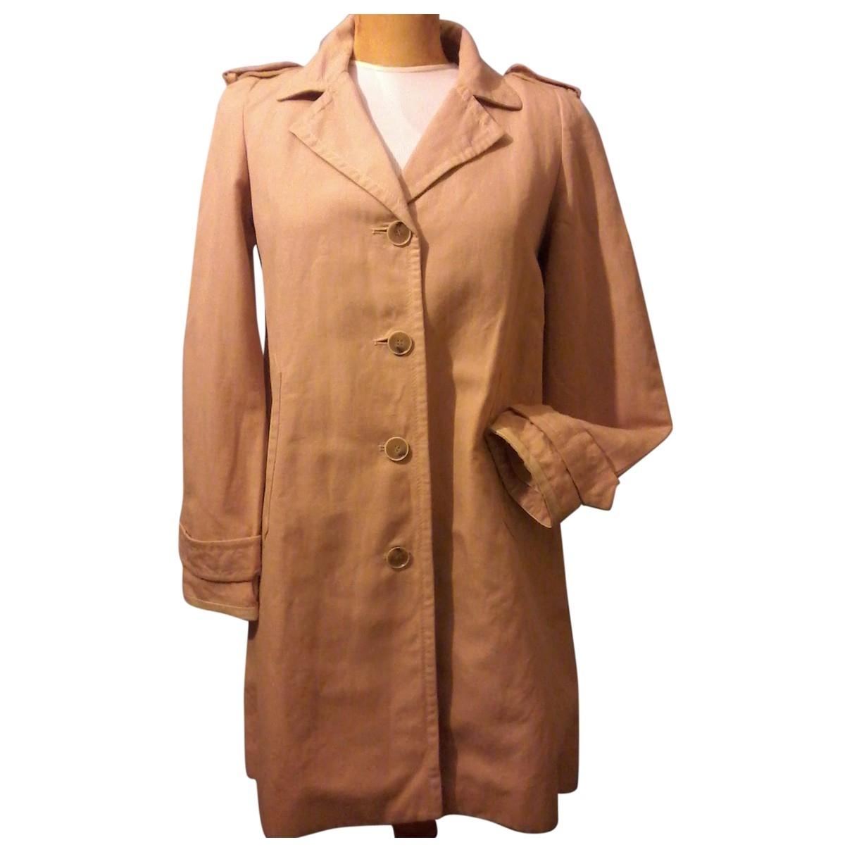 Claudie Pierlot \N Beige Cotton jacket for Women 38 FR