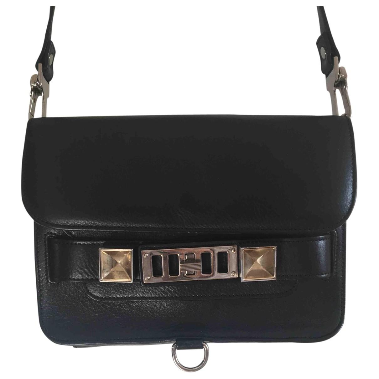 Proenza Schouler - Sac a main PS11 pour femme en cuir - noir