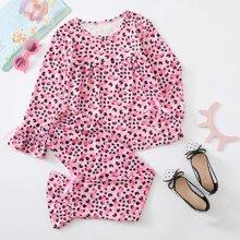 Homewear de Niñas Lazo Flamenco Dulce