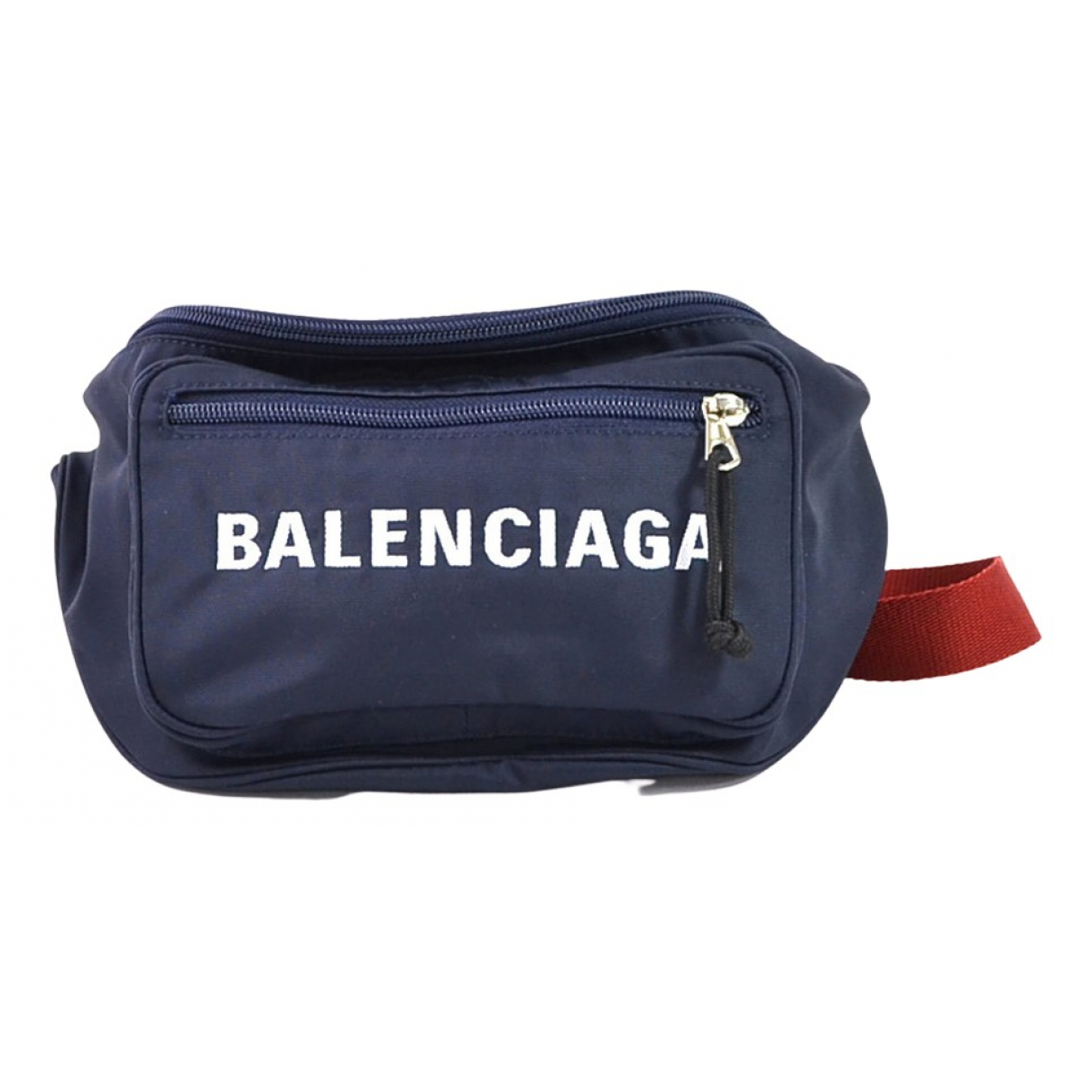 Balenciaga - Pochette   pour femme en toile - bleu