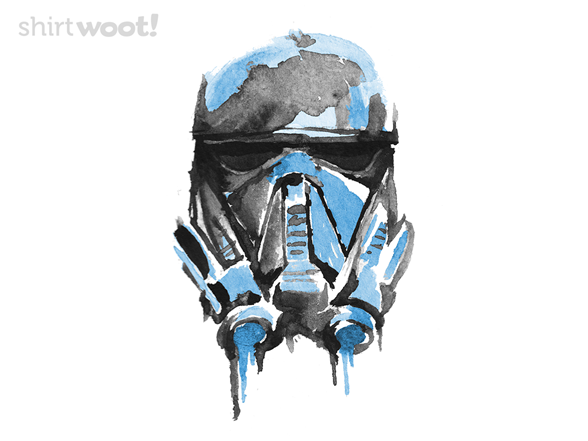 Watercolor Trooper T Shirt