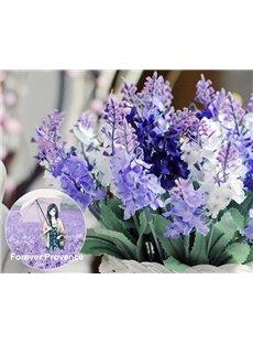 Popular Romantic Dreamy Artificial Lavender Float Flowers Sets
