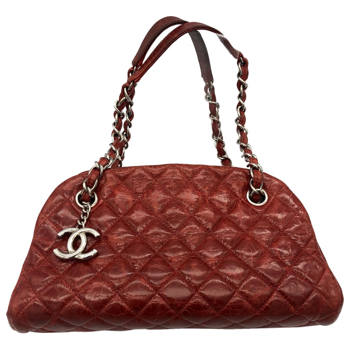 Chanel - Sac a main Mademoiselle pour femme en cuir - rouge