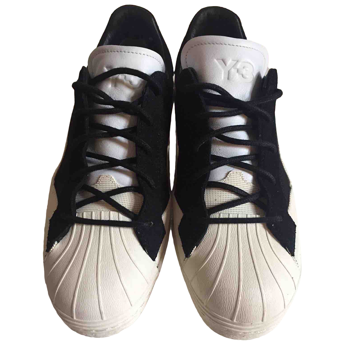Y-3 \N White Suede Trainers for Women 40.5 EU
