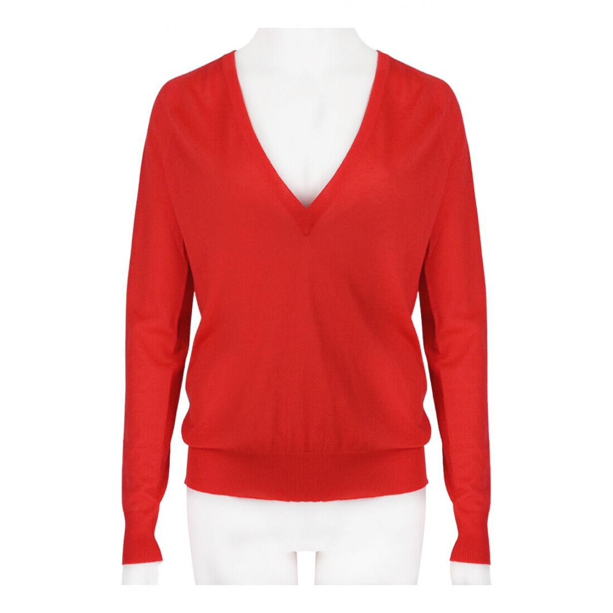 Proenza Schouler - Pull   pour femme en laine - rouge