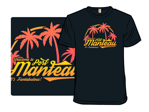 Welcome To Port Manteau T Shirt