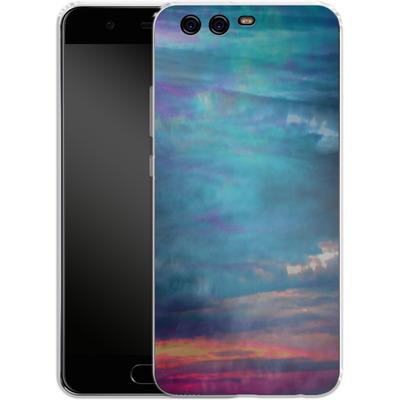 Huawei P10 Silikon Handyhuelle - Ocean Sky von Amy Sia