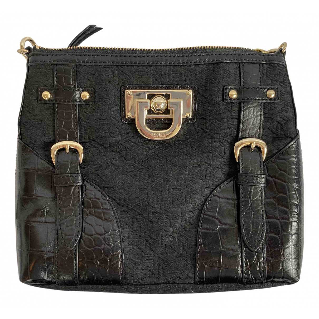 Dkny \N Black Cloth handbag for Women \N
