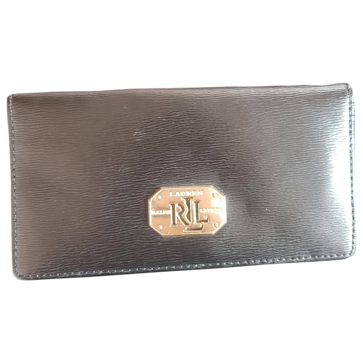 Lauren Ralph Lauren \N Black Leather wallet for Women \N