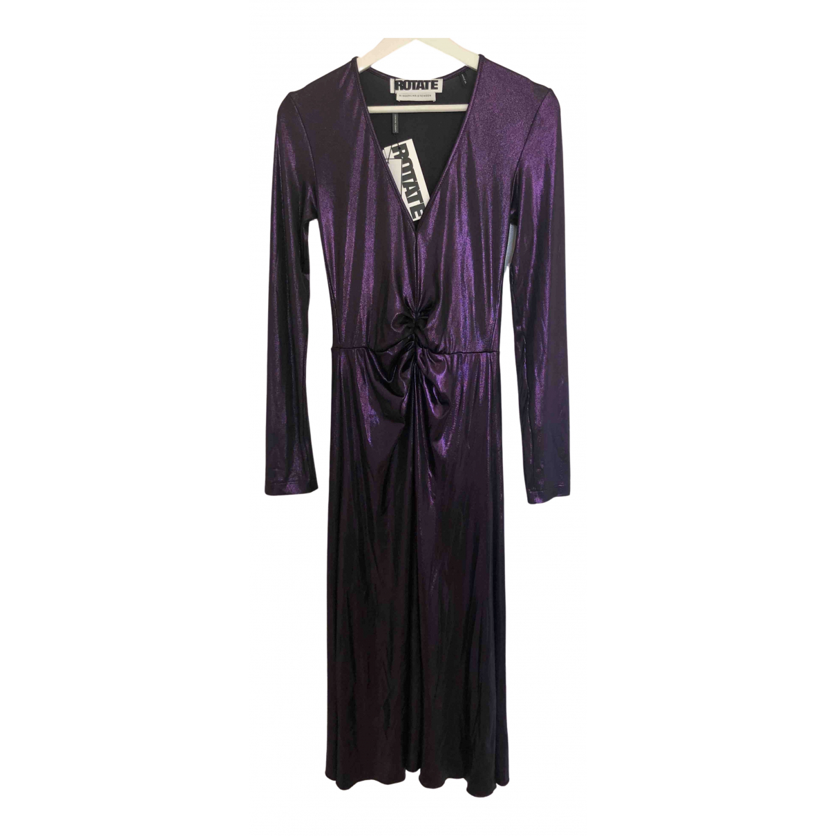 Rotate \N Kleid in  Lila Polyester