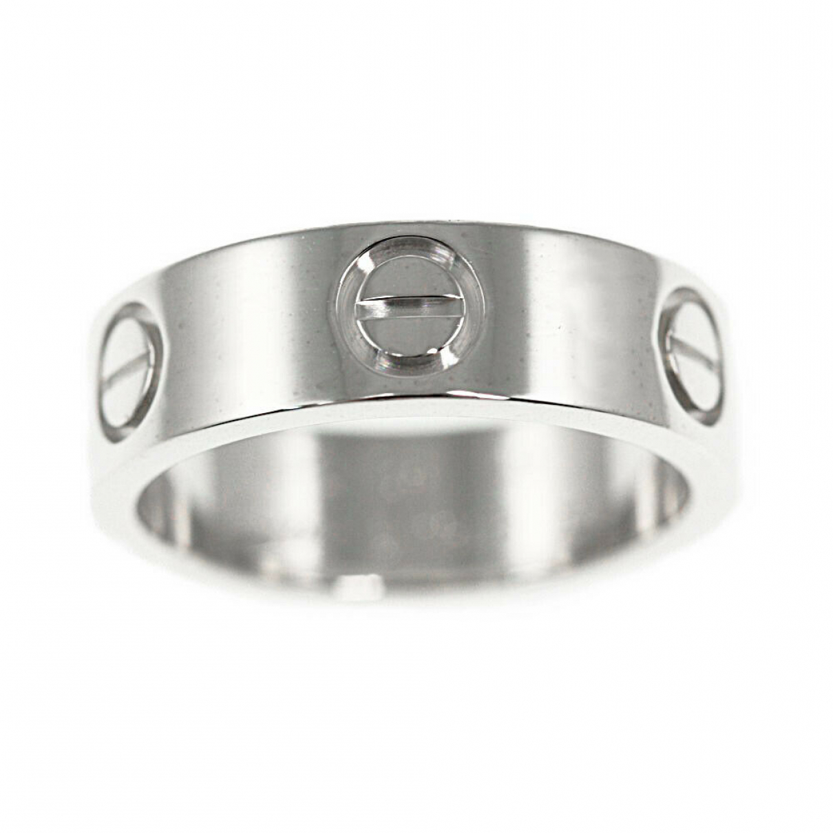 Cartier \N Gold White gold ring for Women 49 EU