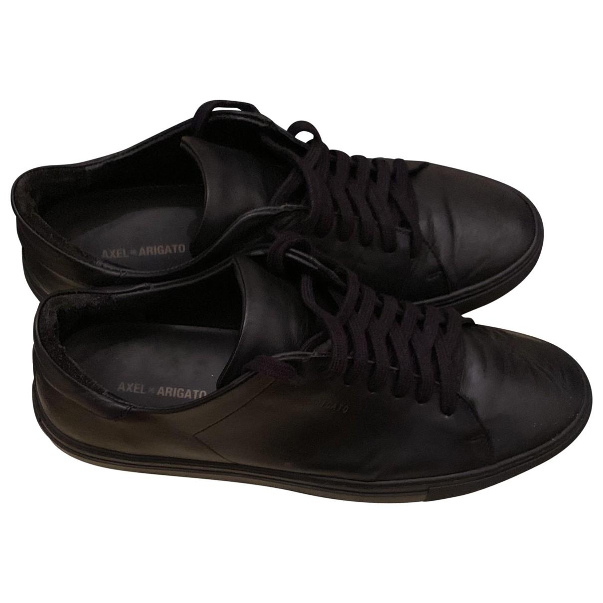Axel Arigato - Baskets   pour homme en cuir - noir