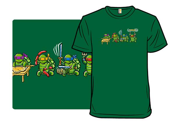 Making Pizza T Shirt