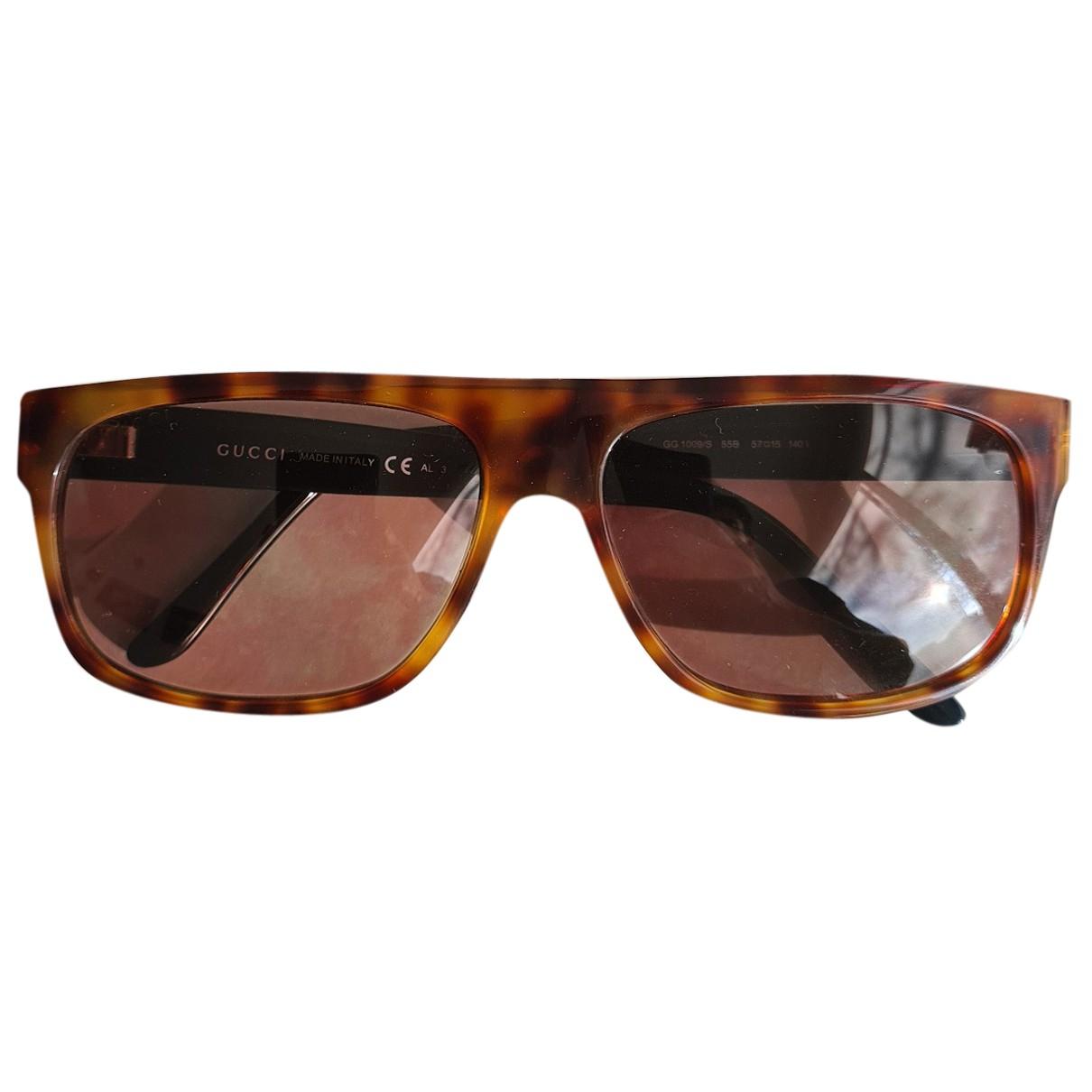 Gucci - Lunettes   pour homme - marron