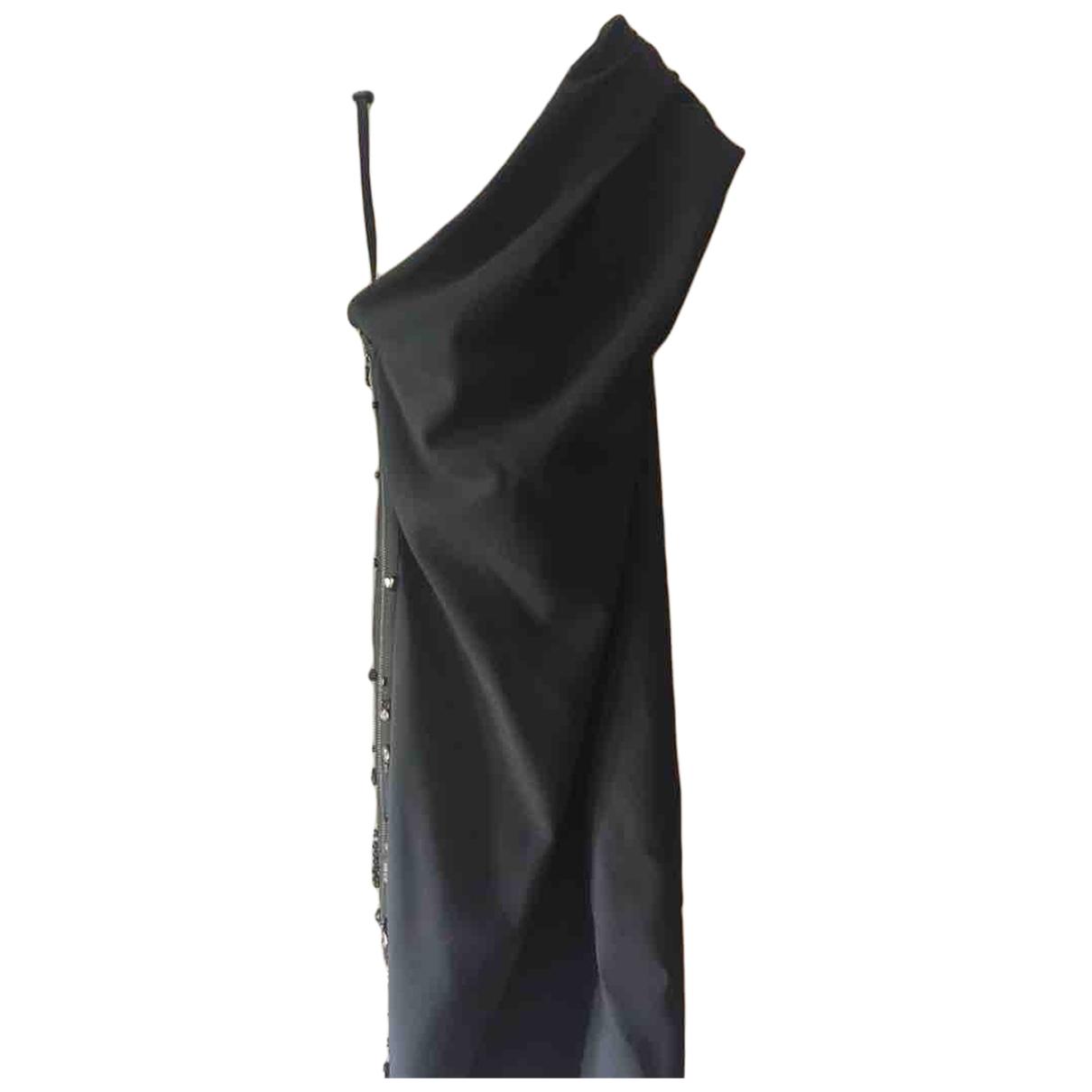 Lanvin \N Black Wool dress for Women 38 FR