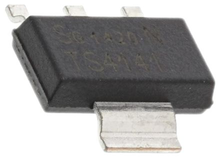 Infineon BTS4141NHUMA1, 1-Channel Intelligent Power Switch, High Side, 0.7A, 45V 3 + Tab-Pin, SOT-223 (10)