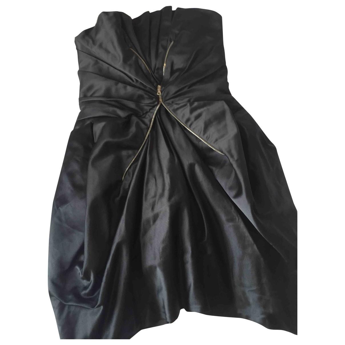 Marc Jacobs \N Kleid in  Schwarz Seide