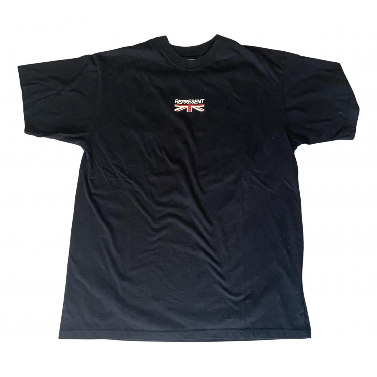 Represent - Tee shirts   pour homme en coton - noir