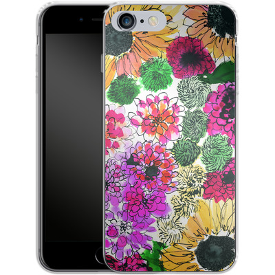 Apple iPhone 6s Plus Silikon Handyhuelle - Fiore Sunshine von Amy Sia