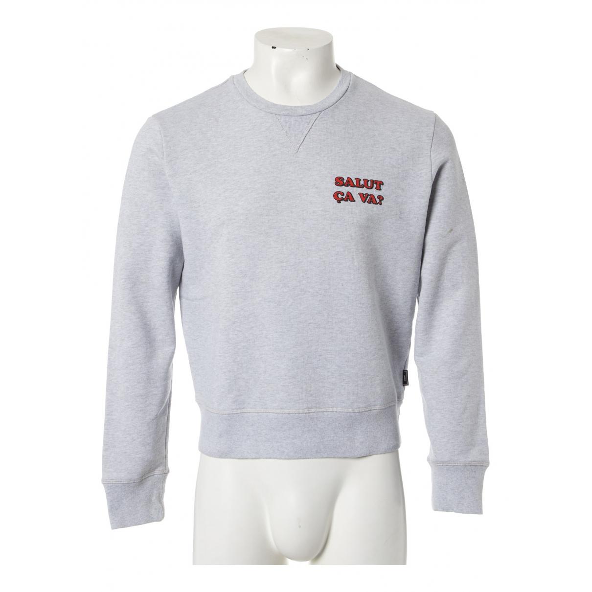 Ami \N Pullover.Westen.Sweatshirts  in  Grau Baumwolle
