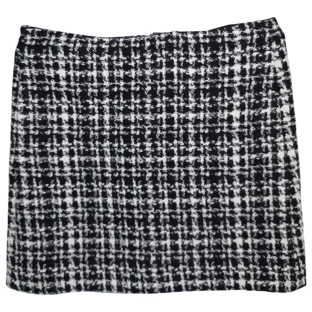 Max Mara 's \N Black Wool skirt for Women 46 IT