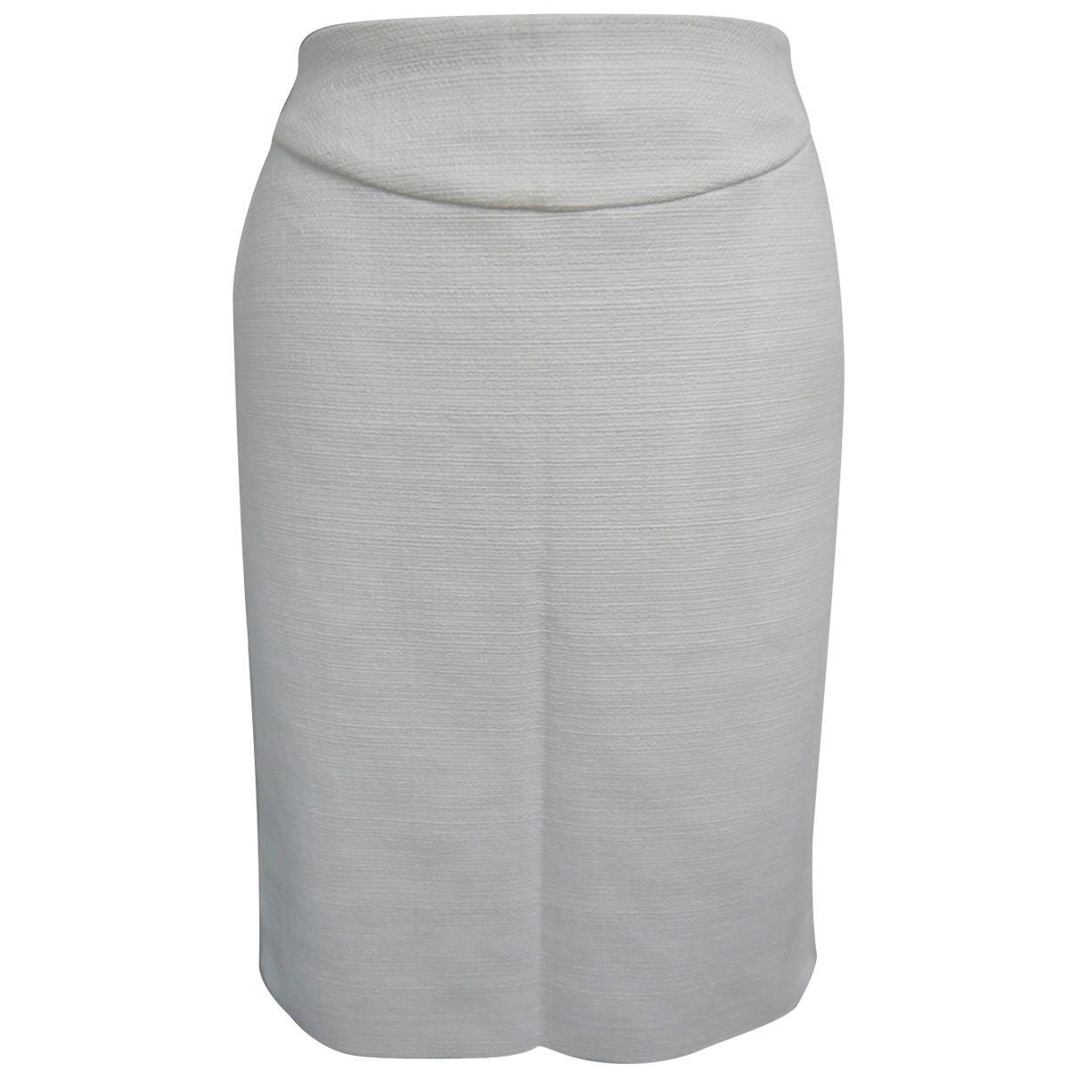 Gianni Versace - Jupe   pour femme en coton - blanc