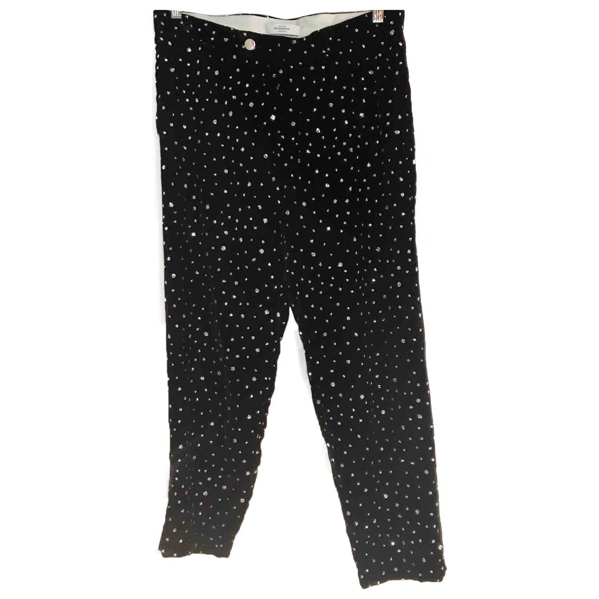 Roseanna N Black Trousers for Women 38 FR