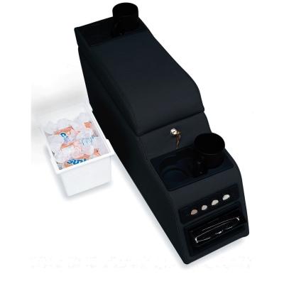 Rampage Locking Center Console (Black Denim) - 31515