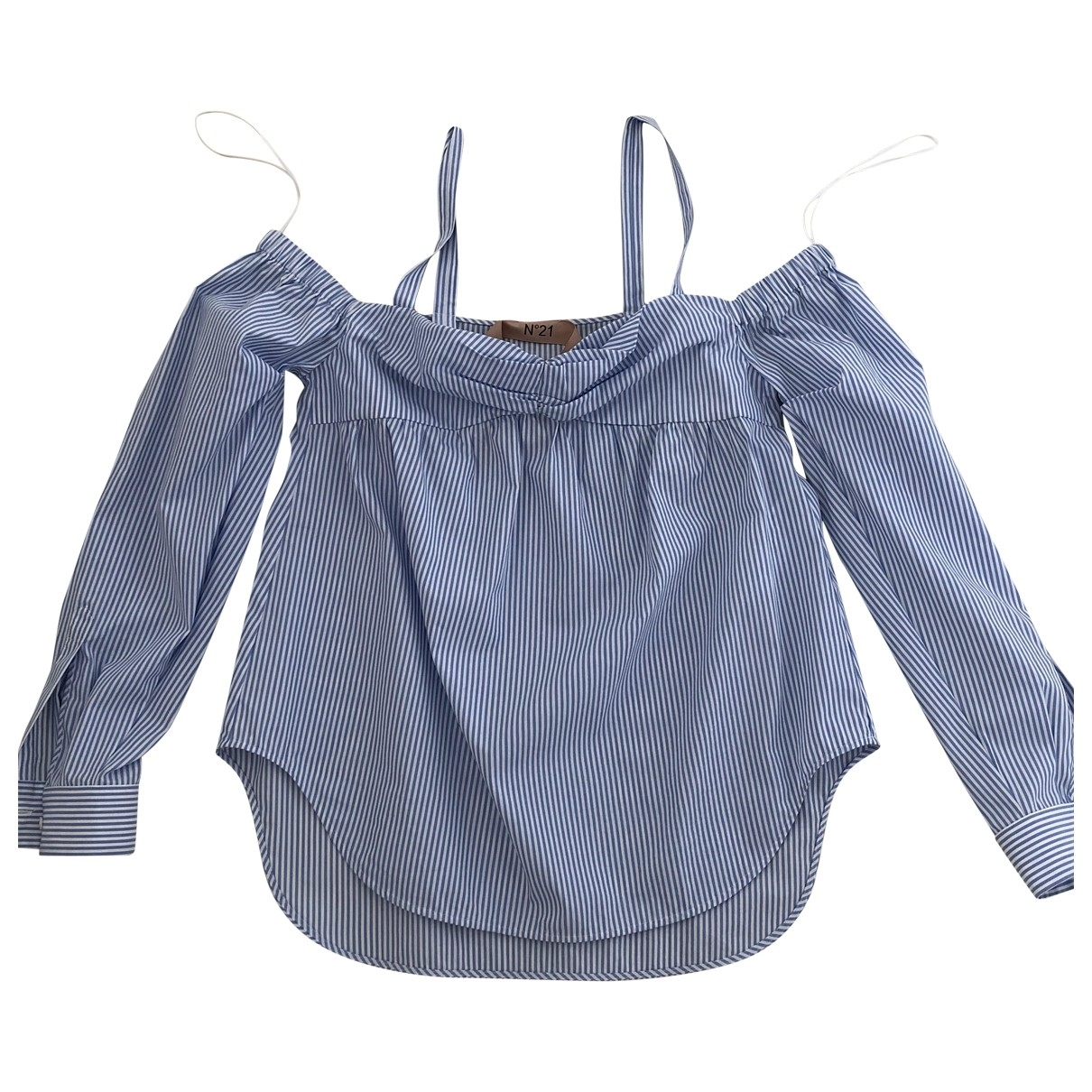 N°21 \N Turquoise Cotton  top for Women 42 IT