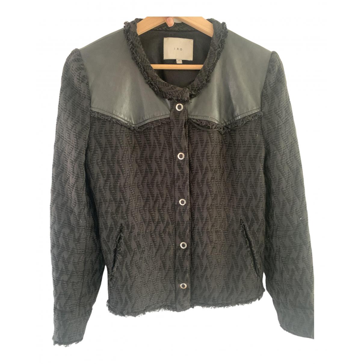 Iro - Veste   pour femme en coton - noir