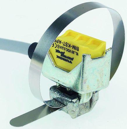 Turck Inductive Sensor - Block, PNP-NO Output, 8 mm Detection, IP67, Cable Terminal