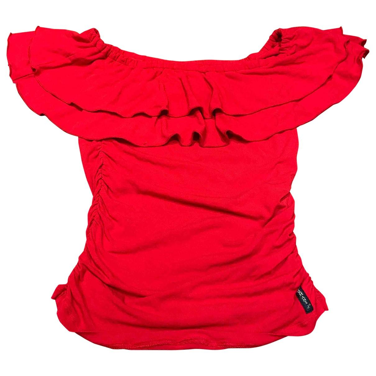 Armani Jean - Top   pour femme - rouge