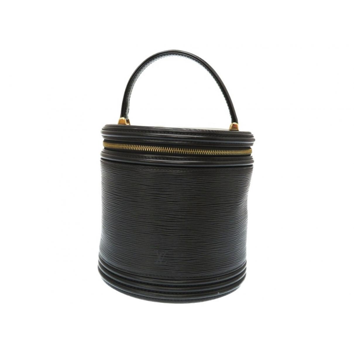 Louis Vuitton - Sac a main Cannes pour femme en cuir - noir