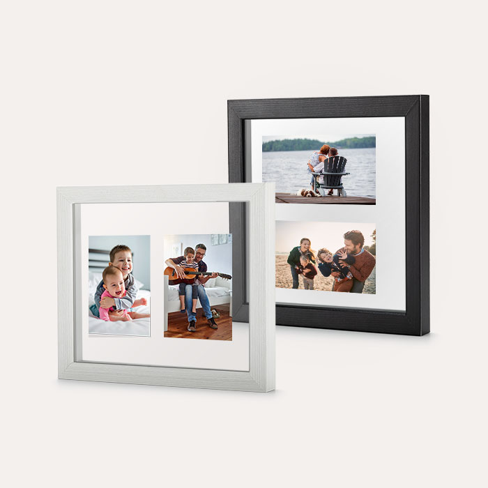 Custom Floating Frame - Black w/ No Backer 4x6 Print, Home Décor