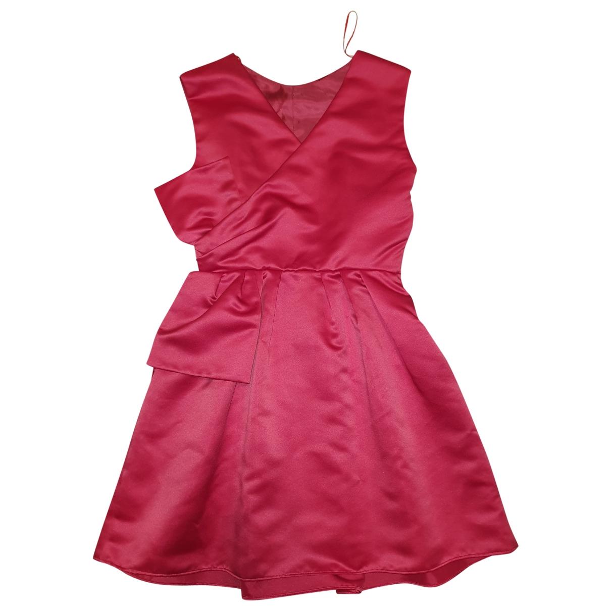 Pinko - Robe   pour femme - bordeaux