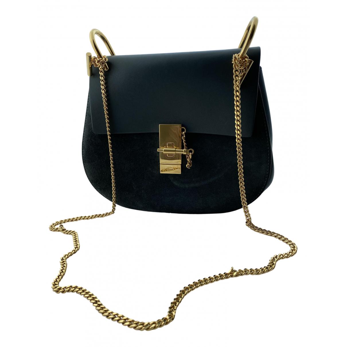 Chloé Drew Blue Leather handbag for Women N