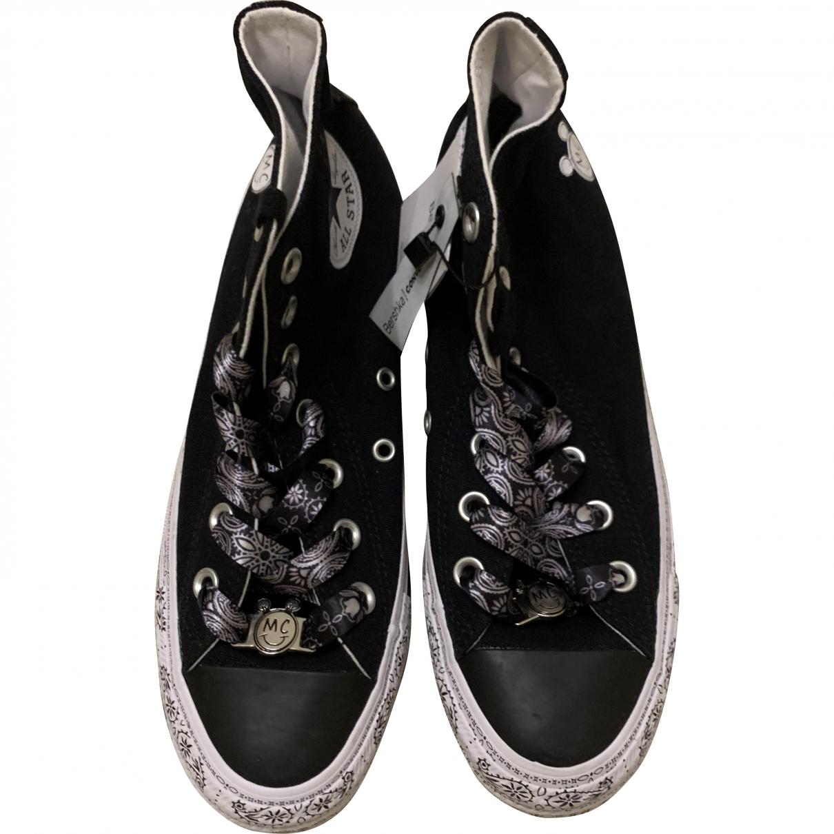 Converse \N Black Cloth Trainers for Women 37.5 EU