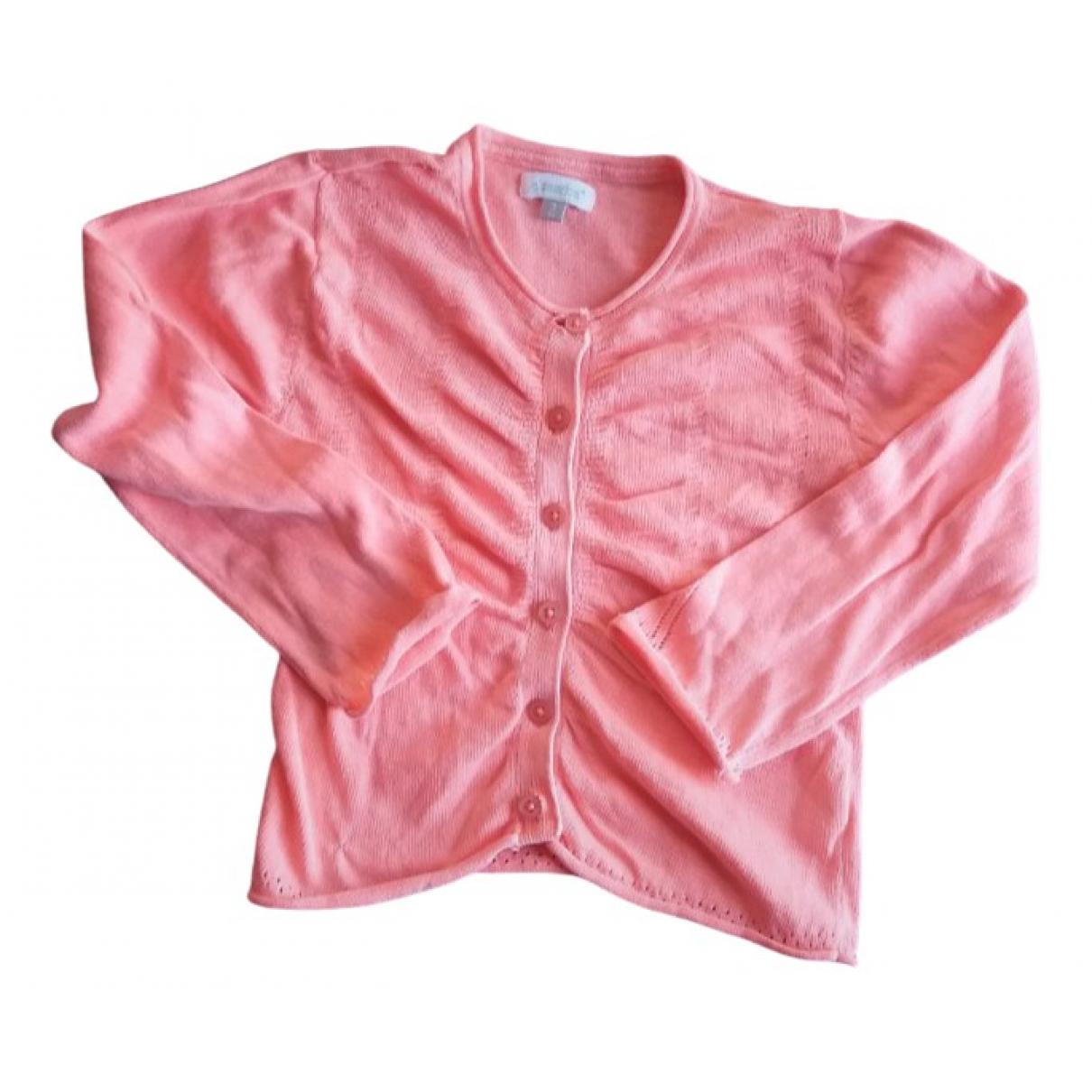 - Pull   pour enfant en coton - rose