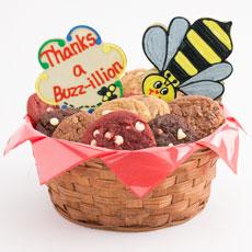 Thanks A Buzz-illion Cookie Basket